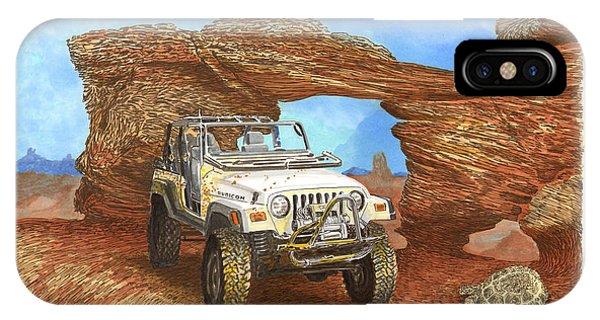 2005 Jeep Rubicon 4 Wheeler IPhone Case