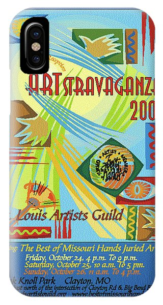 2008 Artstravaganza Poster Abstract Hands IPhone Case