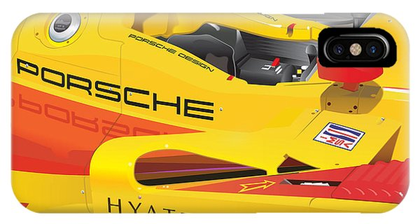 2008 Rs Spyder Illustration IPhone Case