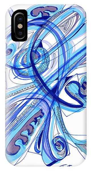 2010 Drawing Four IPhone Case