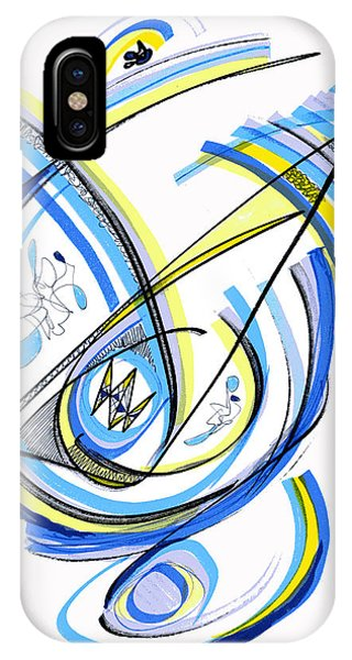 2010 Drawing One IPhone Case