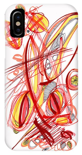 2010 Drawing Two IPhone Case