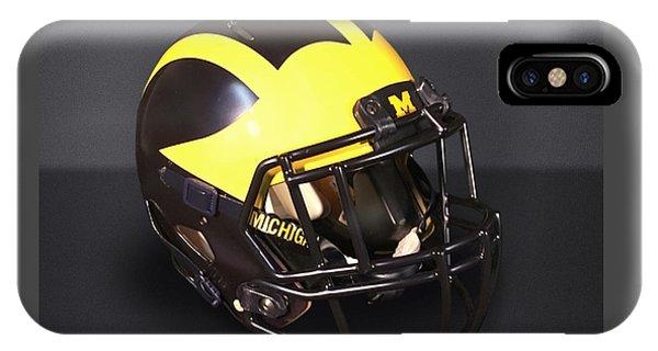 2010s Wolverine Helmet IPhone Case