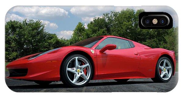 2012 Ferrari 458 Spider IPhone Case
