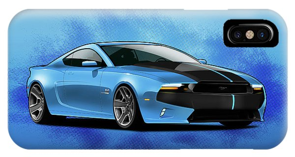 2014 Mustang  IPhone Case