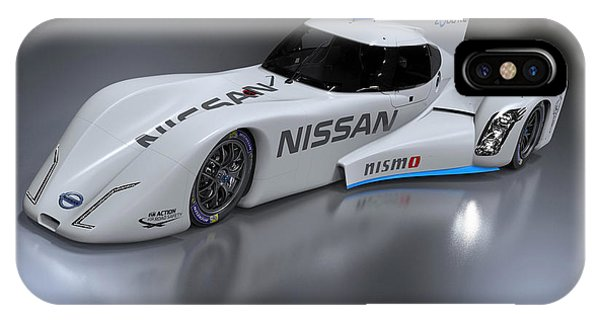 Nissan iPhone Case - 2014 Nissan Zeod Rc 3 by Mery Moon