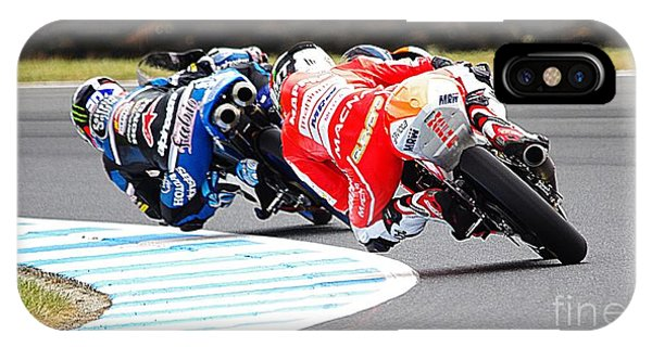 iPhone Case - 2015 Aussie Moto Grand Prix by Blair Stuart