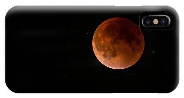 2015 Blood Harvest Supermoon Eclipse IPhone Case