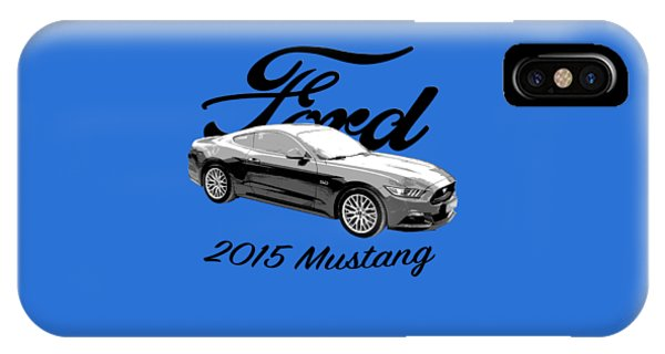 2015 Ford Mustang IPhone Case
