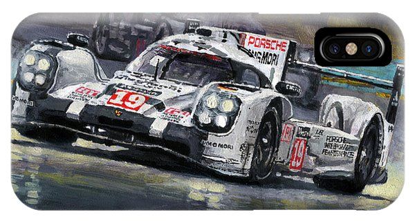 2015 Le Mans 24 Lmp1 Winner Porsche 919 Hybrid Bamber Tandy Hulkenberg IPhone Case