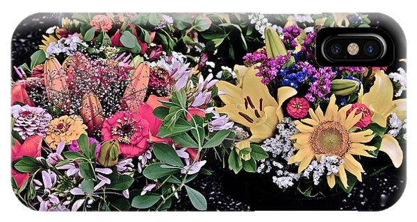 2015 Monona Farmers Market Flowers 1 IPhone Case