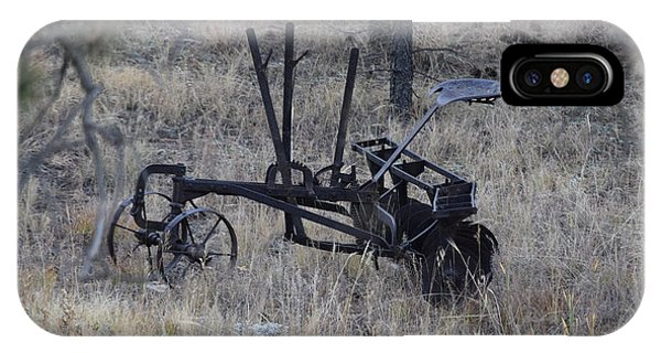 Old Farm Implement Lake George Co IPhone Case