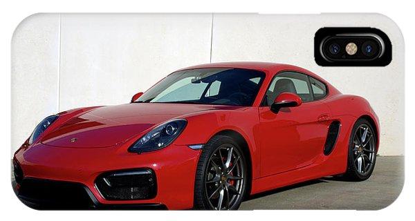 2015 Porsche Cayman Gts IPhone Case