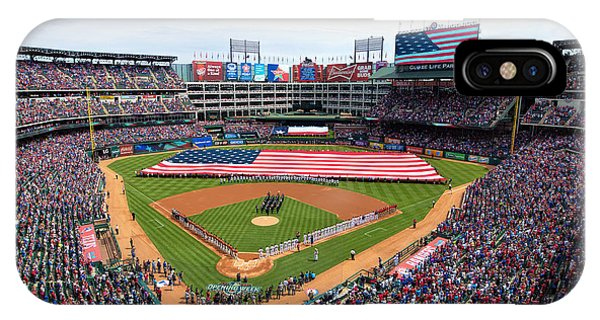 2015 Texas Rangers Home Opener IPhone Case