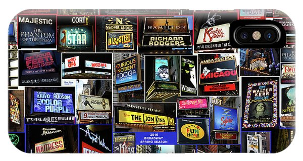 2016 Broadway Spring Collage IPhone Case