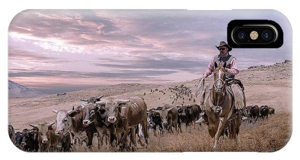 2016 Reno Cattle Drive IPhone Case