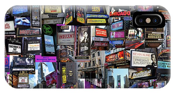 2017 Broadway Spring Collage IPhone Case