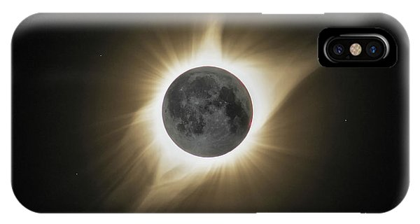2017 Eclipse Hdr IPhone Case