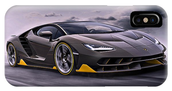 2017 Lamborghini Centenario IPhone Case