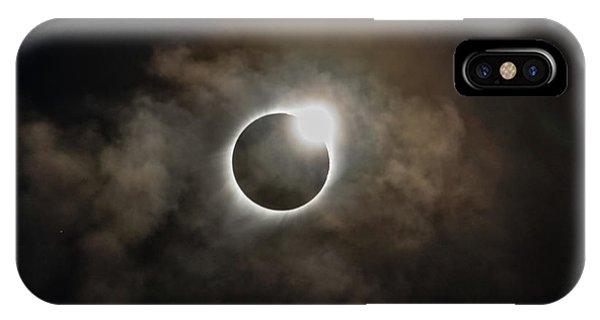 2017 Solar Eclipse Exit Ring IPhone Case
