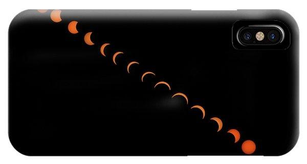 2017 Solar Eclipse IPhone Case
