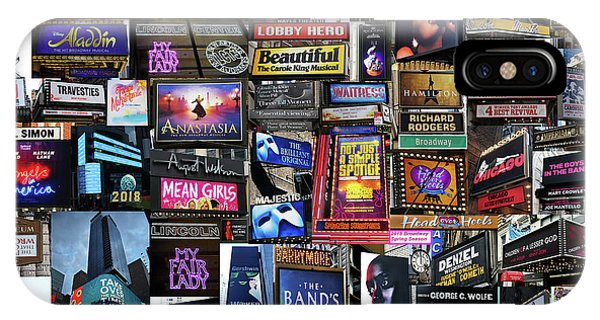 2018 Broadway Spring Collage IPhone Case
