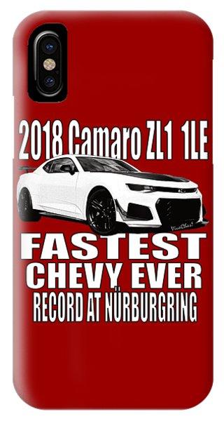 2018 Camaro Zl1 1le IPhone Case