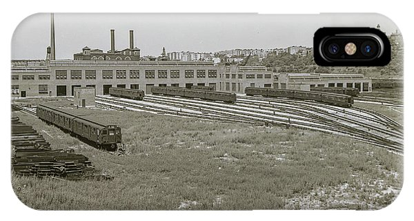 207th Street Railyards IPhone Case