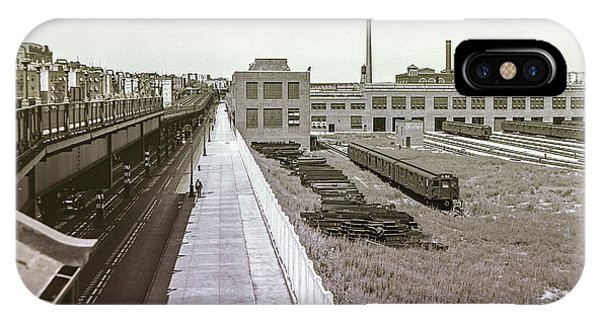 207th Street Subway Yards IPhone Case