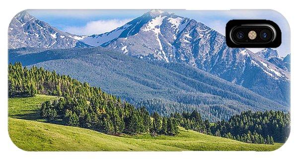 #215 - Spanish Peaks, Southwest Montana IPhone Case