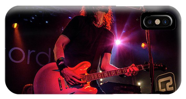 Uk Foo Fighters Live @ Concorde 2 IPhone Case
