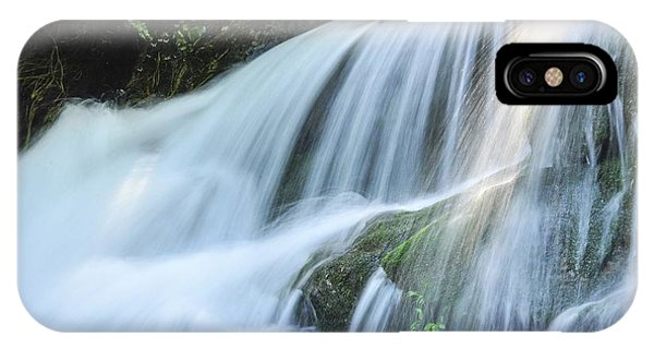 IPhone Case featuring the photograph Waterfall Scenery by Carl Ning