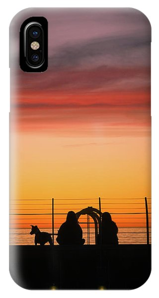 IPhone Case featuring the photograph 22nd St Sunset by Michael Hope