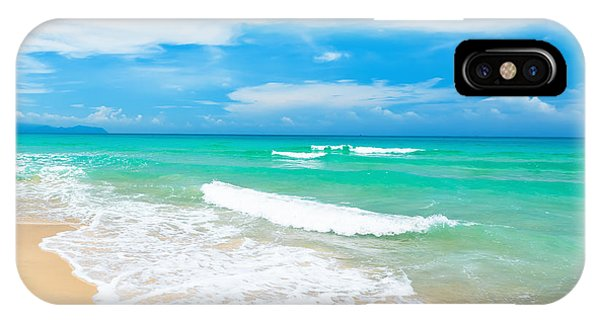 Sunny iPhone Case - Beach by MotHaiBaPhoto Prints