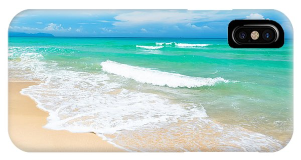 Cloud iPhone Case - Beach by MotHaiBaPhoto Prints