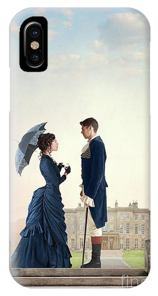Victorian Couple  IPhone Case