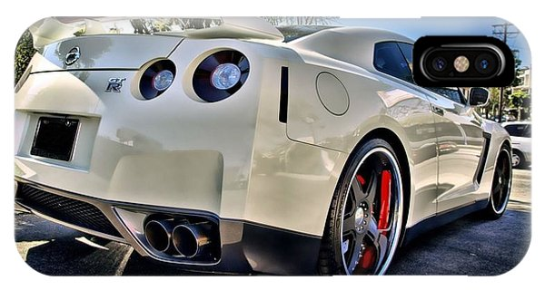 Nissan iPhone Case - 237948 Car Nissan Gt R by Mery Moon