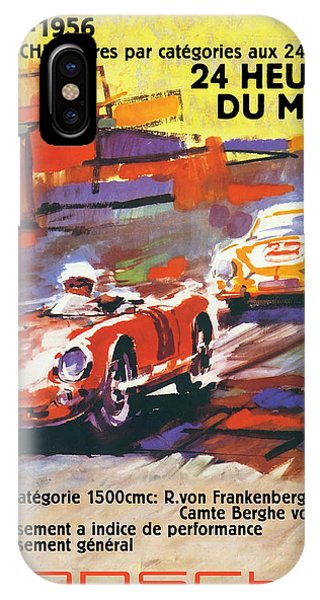 24 Hours Of Le Mans IPhone Case