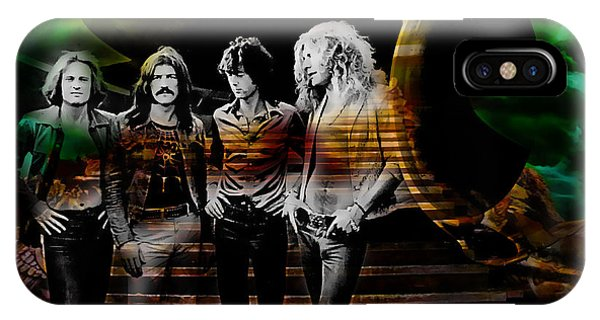 Rock And Roll Jimmy Page iPhone Case - Led Zeppelin Collection by Marvin Blaine