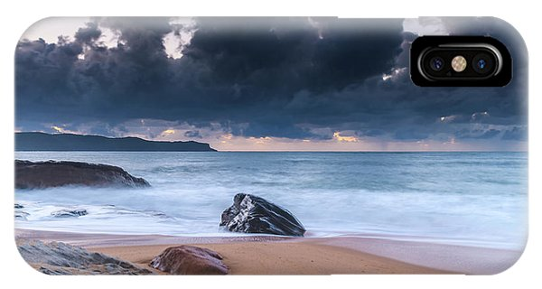 Sunrise Seascape With Clouds IPhone Case