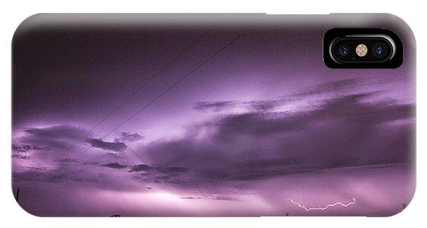 Nebraskasc iPhone Case - 6th Storm Chase 2015 by NebraskaSC