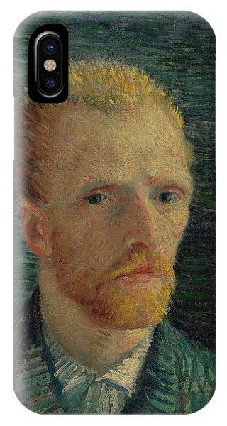 Van Gogh Museum iPhone Case - Self-portrait by Vincent van Gogh