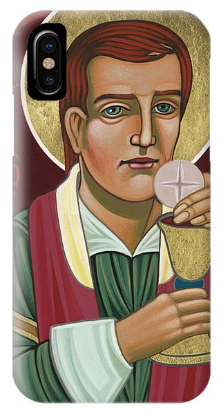 IPhone Case featuring the painting 297 Holy Martyr Blessed William Hart -1583 by William Hart McNichols