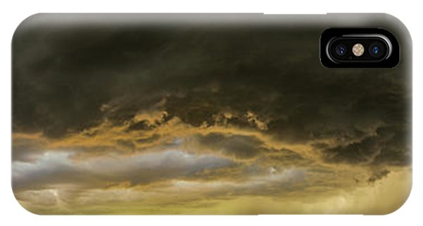 Nebraskasc iPhone Case - 2nd To Last Storm Of The 2017 Season 028 by NebraskaSC