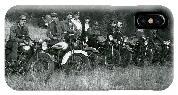 1941 Motorcycle Vintage Series IPhone Case