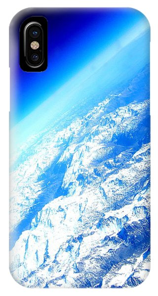 Alpine From Sky IPhone Case