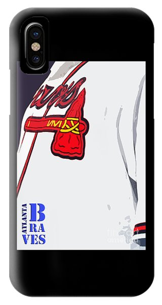Atlanta Braves Original Typography Baseball Team IPhone Case