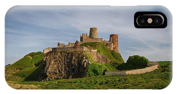 Castle iPhone X / XS Case - Bamburgh Castle by Smart Aviation