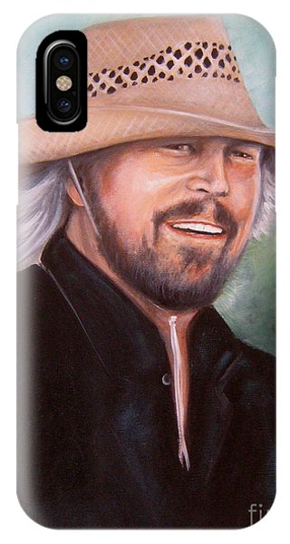 Barry Gibb IPhone Case