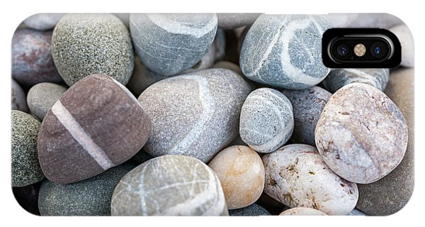 IPhone Case featuring the photograph Beach Pebbles by Elena Elisseeva